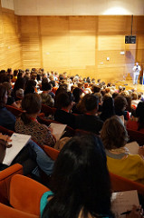 Audience at a conference